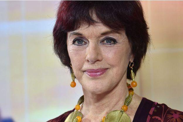Anny Duperey en novembre 2016.