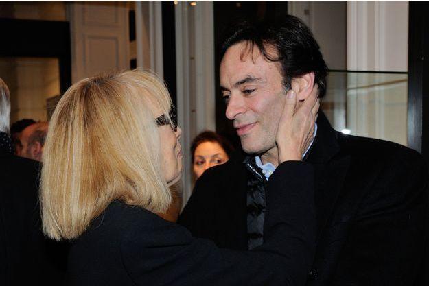 Anthony Delon et Mireille Darc