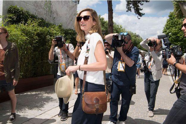 Julie Gayet à Roland-Garros, le 5 juin dernier.