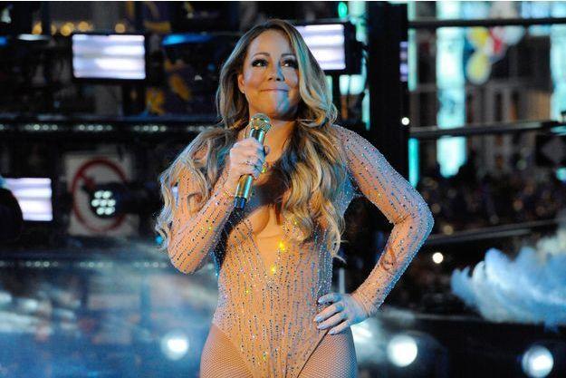 Mariah Carey à New York, le 31 décembre 2016.