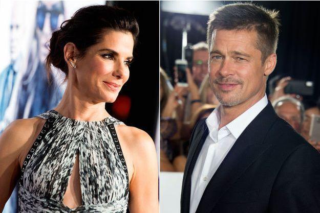 Sandra Bullock et Brad Pitt