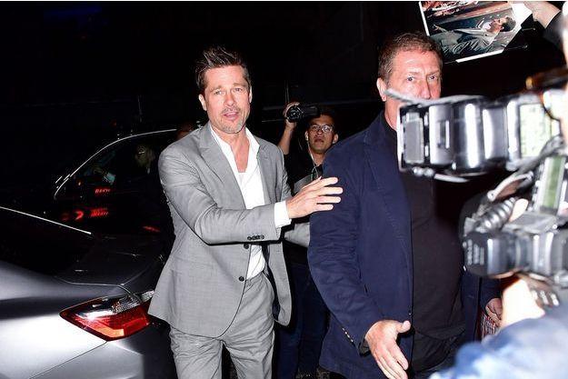 Brad Pitt en 2017.