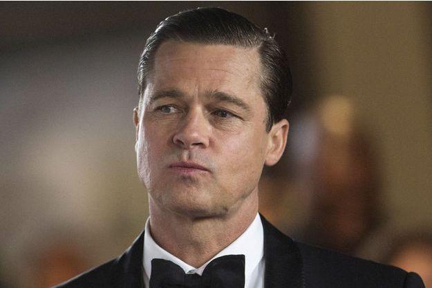 """Brad Pitt à l'avant-première de """"Vue sur mer"""" en 2015."""