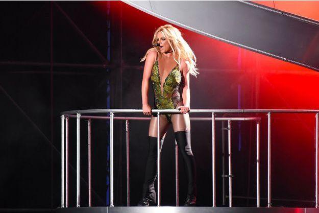 Britney Spears en concert à Taipei en juin 2017