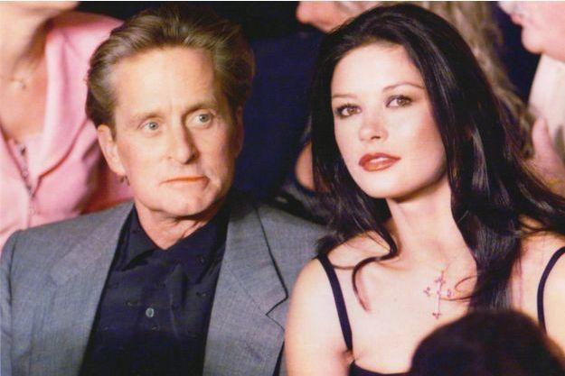 Michael Douglas et Catherine Zeta-Jones à Las Vegas lors d'un de leurs premiers rendez-vous