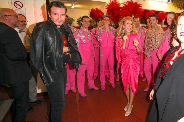 Au Moulin Céline Et MunozSoirée Pepe Rouge Dion Surprise n8wvmN0