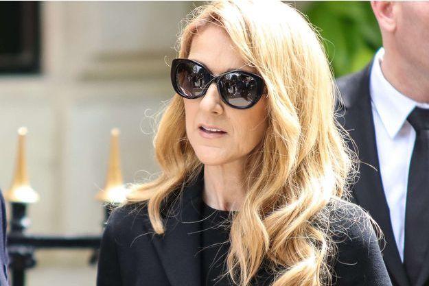 Céline Dion en 2016.