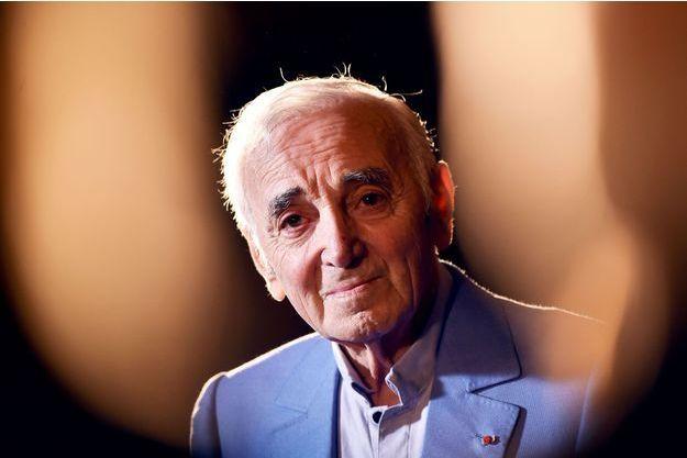 Charles Aznavour en octobre 2016