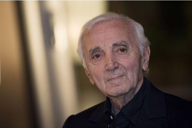 Charles Aznavour à Tokyo, le 17 juin 2016.