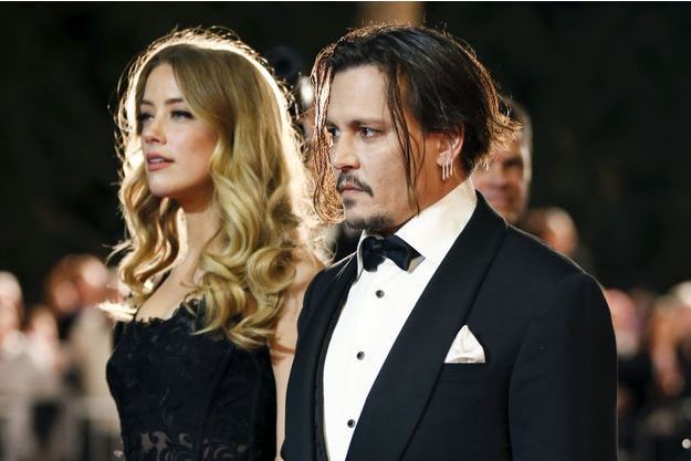 Johnny Depp et Amber Heard en Californie, janvier 2016