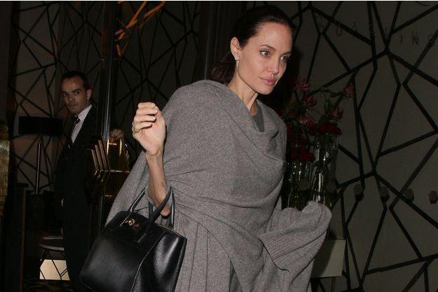 Angelina Jolie, à Londres, le 25 avril 2016.