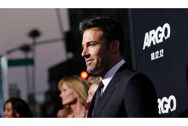 """Ben Affleck à la première de son film """"Argo""""."""