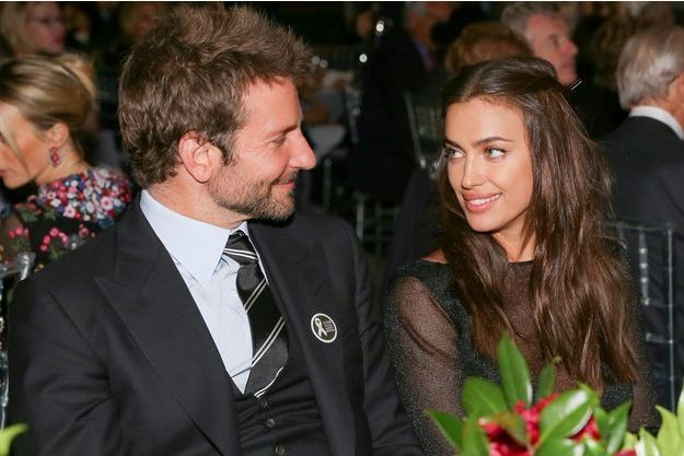 Bradley Cooper et Irina Shayk en novembre 2015.