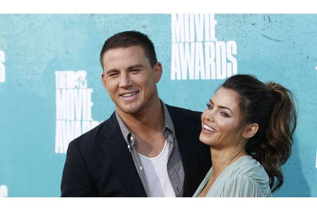 Channing Tatum et sa femme Jenna Dewan.