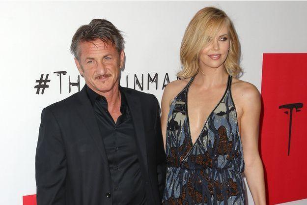 Sean Penn et Charlize Theron le 13 mars dernier à Los Angeles