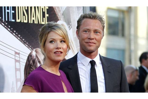 Christina Applegate et Martyn LeNoble en 2010.
