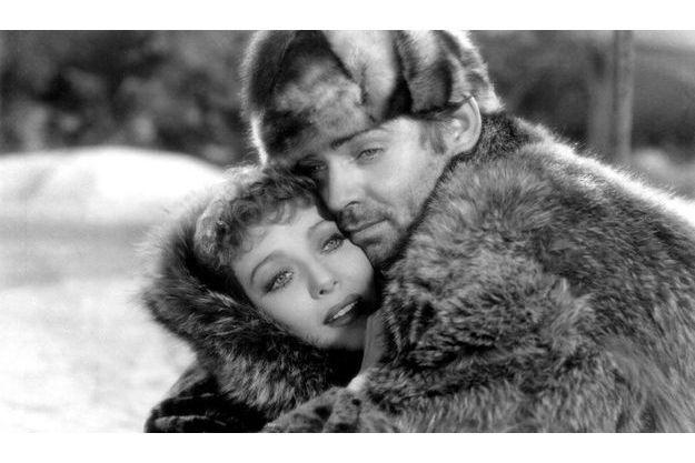 Un extrait de «L'appel de la forêt», avec Loretta Young et Clark Gable. Leur fille cachée avait 76 ans.