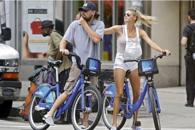 Le 9 juin dernier, Leo et Kelly s'offrent une virée à Citi Bike, les vélos mis en location par la ville de NYC.