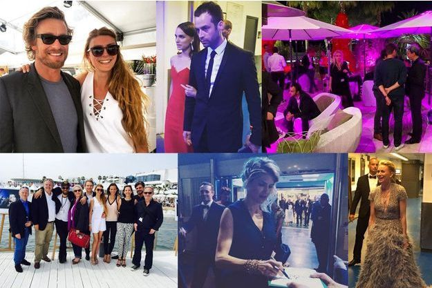 Méliné Ristiguian va à la rencontre des stars durant tout le festival de Cannes.