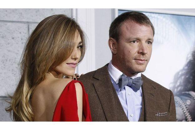 Guy Ritchie et sa fiancée Jacqui Ainsley.