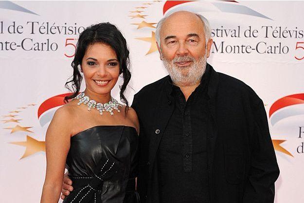 Gérard Jugnot et Saïda Jawad au Festival de Monte-Carlo 2011