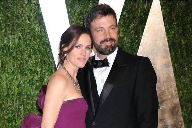 Jennifer Garner et Ben Affleck à Hollywood en février 2013.