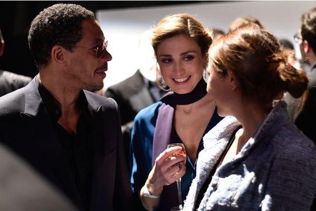 Joey Starr et Julie Gayet lors de la cérémonie des Césars, le 20 février 2015