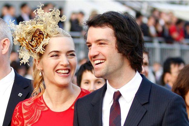 Kate Winslet et son mari Ned Rocknroll en décembre 2012.