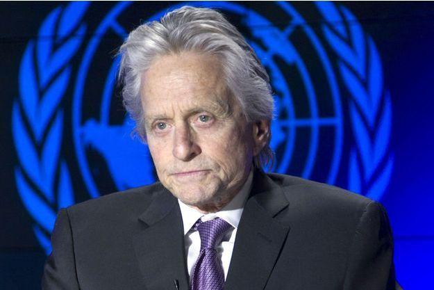 Michael Douglas, mardi, à l'ONU.