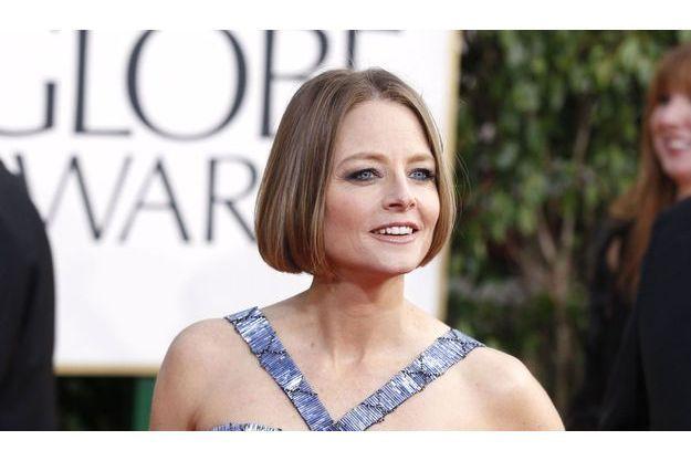 Jodie Foster lors des Golden Globes, dimanche soir.