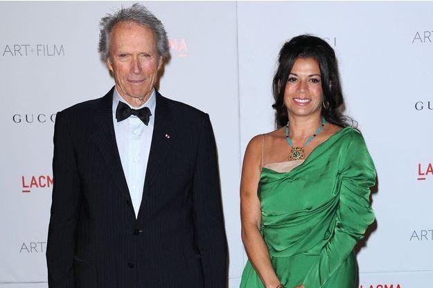 Au temps du bonheur: Clint Eastwood et Dina à Los Angeles en novembre 2011