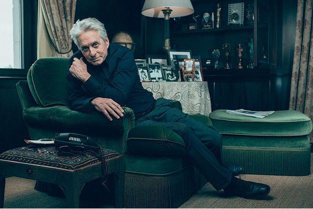 Dans son appartement new-yorkais avec vue sur Central Park où il vit depuis vingt-cinq ans.