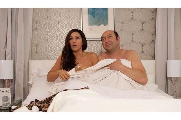 Monica Bellucci et Kad Merad dans «Des gens qui s'embrassent», de Danièle Thompson.