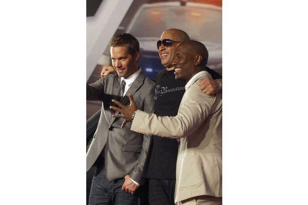 Paul Walker, Vin Diesel et Tyrese Gibson en 2011