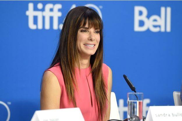 Sandra Bullock le 12 septembre dernier au Festival du film de Toronto.