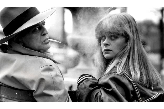 Klaus Kinski et sa fille Pola séance photo pour Paris Match, le 13 mars 1979, au jardin du Luxembourg.
