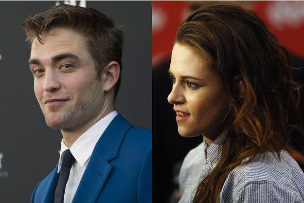 Robert Pattinson et Kristen Stewart.