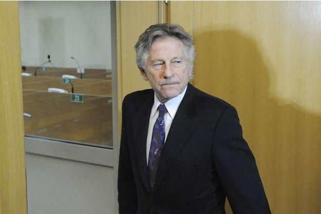 Roman Polanski arrive au Tribunal de Cracovie le 25 février 2015