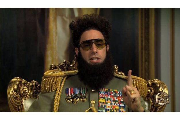 Sacha Baron Cohen, alias l'Amiral Général Aladeen.