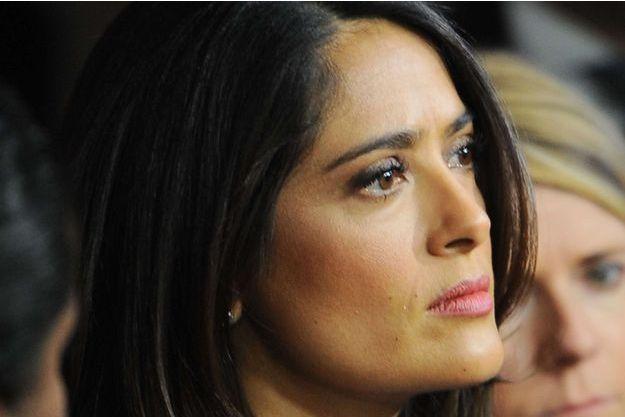 Salma Hayek en janvier 2016.