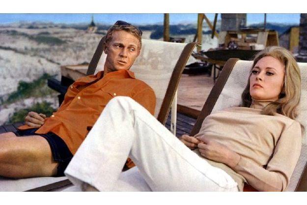 Steve McQueen et Faye Dunaway dans «L'affaire Thomas Crown» (1968).