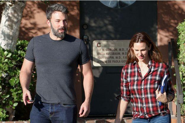 Ben Affleck et Jennifer Garner à la sortie d'un rendez-vous le 3 septembre dernier à Los Angeles.