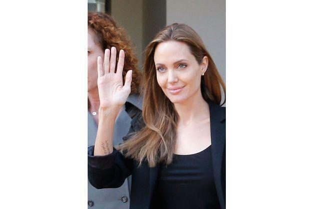 Angelina Jolie en voyage au Liban en février 2014