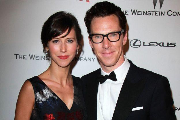 Benedict Cumberbatch et Sophie Hunter en janvier dernier.