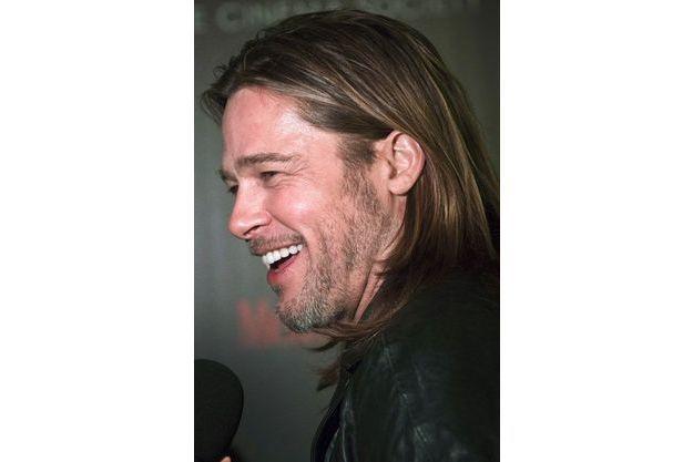 Brad Pitt en novembre 2012.