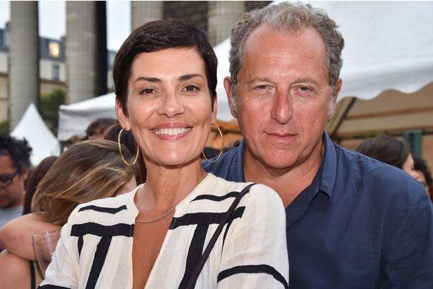 Cristina Cordula et Frédéric Cassin en 2016.