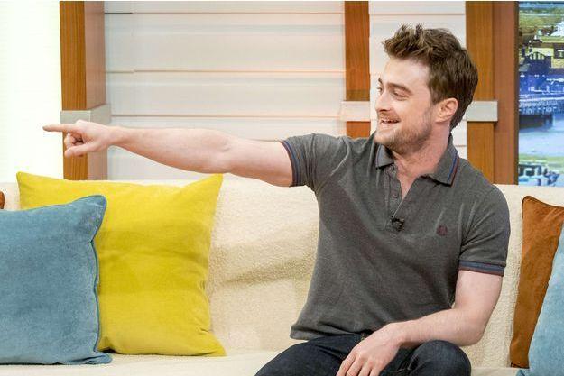 Daniel Radcliffe à la BBC en septembre 2016.