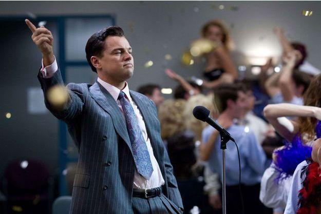 """Leonardo DiCaprio dans """"Le Loup de Wall Street"""", film au coeur du scandale financier."""