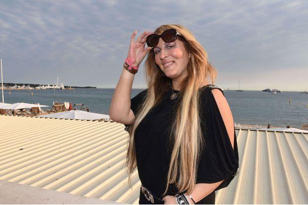 Loana à Cannes en mai 2017