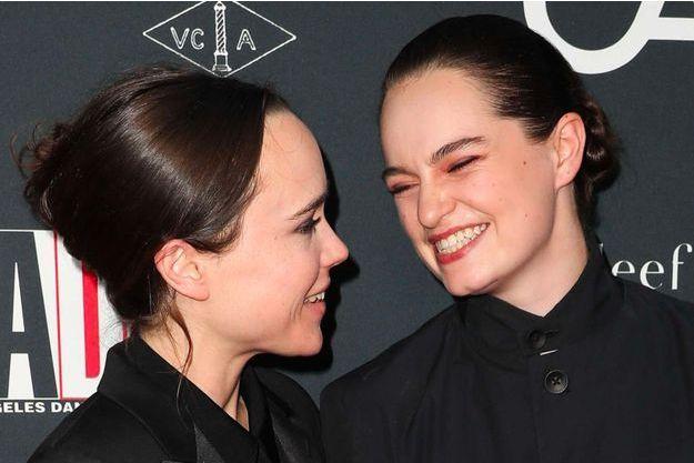 Ellen Page et son épouse Emma Portner